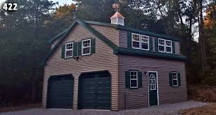 How To Build A Two Story Garage by 2 Car 2 Story Garage Two Story Garage Horizon Structures
