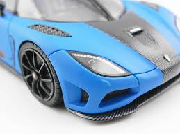 koenigsegg agera blue 1 43 koenigsegg agera r 1 43 frontiart model co ltd