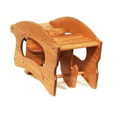 desk 3 in 1 rocking horse high chair
