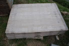 panneau fausse brique panneaux en bois extérieur massif pour terrasse jardin chevaux