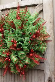 christmas mesh wreaths mesh christmas tree wreath christmas lights decoration