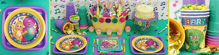 Barney party planning Ideas for Brendan s bday