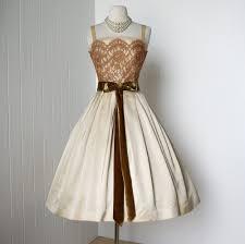 vintage 1950 u0027s dress gorgeous designer harry keiser moda años 50