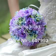 flowers free shipping bridal bouquet hydrangea wedding flower bridesmaid bouquet