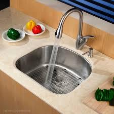 kraus 28 inch undermount sink kraus 23 inch undermount single bowl stainless steel kitchen sink