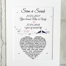 1st wedding anniversary gift 1st anniversary gift etsy