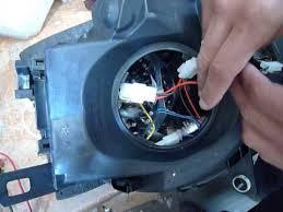 mini cooper headlight wiring
