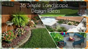 30 quick and easy tips for your simple landscape design ideas 1