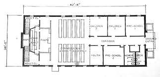 Small Church Building Floor Plans First Baptist Church Sargent