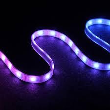 led design led rope lights home depot led pixel light inspiration and