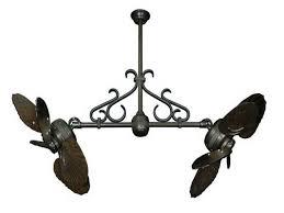 Ceiling Fan Lowes by Chose Improvement Twin Star Wood Design Double Ceiling Fan Outdoor