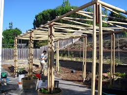 how to make a bamboo arbor google search garden pinterest