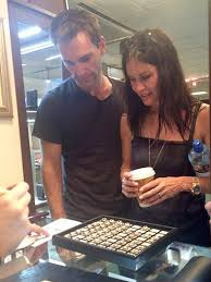 wedding bands derry courteney cox johnny mcdaid visit ireland
