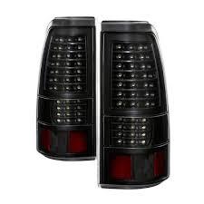 2004 gmc sierra tail lights gmc sierra 2004 2006 black full led tail lights a1351b6v109