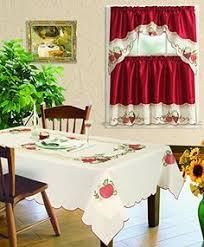Fruit Kitchen Rug Sets Best Kitchen Curtains Benson Mills Chagall Spillproof Fabric