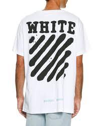 Spray Paint White - off white spray paint logo t shirt white black