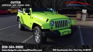 sport jeep wrangler new 2017 jeep wrangler sahara sport utility in pearl city pj3392