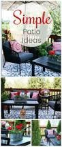 Backyard Patio Designs Ideas by Best 20 Outdoor Patio Decorating Ideas On Pinterest Deck