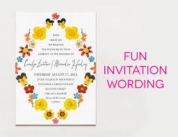 wedding invite wording sles of wording for wedding invitations 15 creative traditional