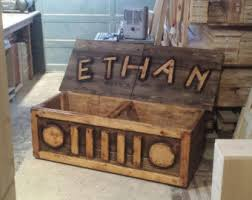 Build A Toy Chest Bench by Toy Chest Etsy