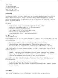 Leadership Resume Template Professional Chamber Of Commerce Director Templates To Showcase