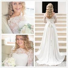 a line wedding dress actual picture 2016 lace bohemian wedding