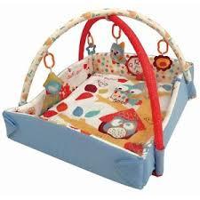 tappeto palestrina attivit罌 con sonagli per neonato bambino ebay