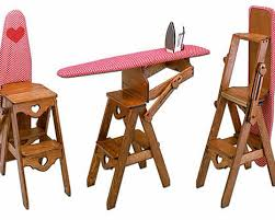 The Bachelor Chair Is A Step Stool Seat And Ironing Board All In - Ironing table designs
