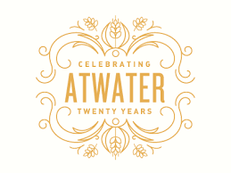 20 yr anniversary atwater brewery s 20 year anniversary logo by kelsey sugg dribbble