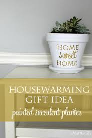 housewarming gift succulent planter the inspired hive