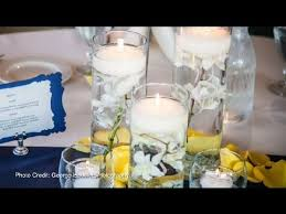 what flowers should i use in glass vases for wedding centerpieces