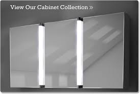 Lighted Bathroom Cabinet Brilliant Bathroom Cabinets Mirrored Cabinet With Lights On