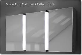 Illuminated Mirror Bathroom Cabinets Beautiful Moods Led Mirrored Bathroom Cabinet In Illuminated