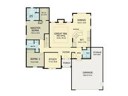 open floor plan blueprints eplans ranch house plan open floor ranch 1552 square and
