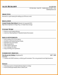 Entry Level Resume Template Free 6 Entry Level Resume Objective Example Cote Divoire Tennis