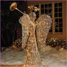 lighted angel christmas decoration christmas outdoor angel decorations geneslove me