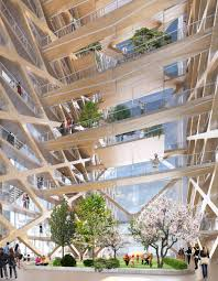 the tallest timber tower yet perkins will u0027s concept proposal