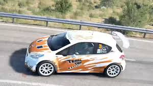 peugeot spain dirt 4 peugeot 208 spain youtube