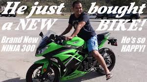 kawasaki motocross helmets 2014 kawasaki ninja 300 he just bought a motorcycle a beginner u0027s