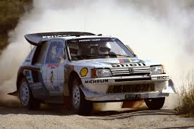 peugeot 205 rally peugeot 205 turbo 16 e2 1986 rally argentina stig blomqvist y