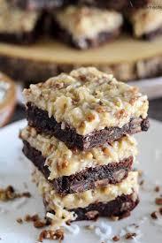 german chocolate brownies recipe julie u0027s eats u0026 treats