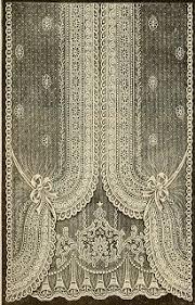 Antique Lace Curtains Vintage Ephemera Decorative And Ornamental Ephemera Graphics