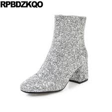 womens boots in size 11 boots winter 2017 shoes big size wedding glitter bling