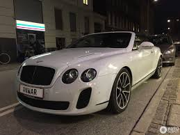 bentley continental supersports convertible 23 november 2016