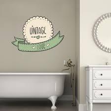 wallimpact adesivi murali adesivi per parete adesivi per porta vintage love shabby chic wall sticker adesivo da muro