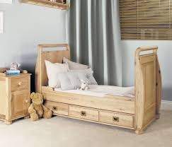 Light Oak Furniture Amelie Oak Cot Bed With Three Drawers Amelie Oak Children U0027s