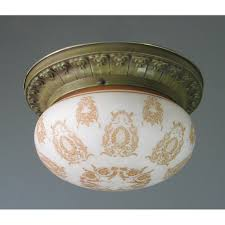 Antique Brass Ceiling Light Top Attractive Antique Ceiling Light Fixtures Pertaining To House