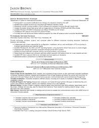 Sample Information Technology Resume by Information Technology Resume Sample Free Resume Example And