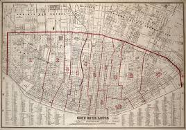 St Louis Mo Map Maps Of St Louis 1764 U20131960