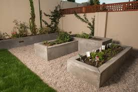 make your yard different with concrete planter box u2013 decohoms